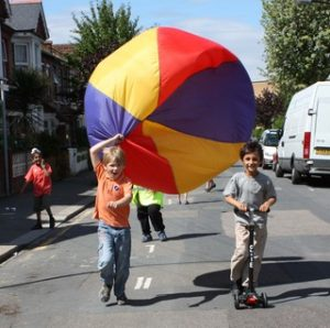 Waltham Forest play street